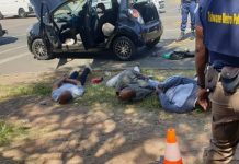 Armed business robberies: 3 Suspects arrested, Pretoria West. Photo: Arrive Alive