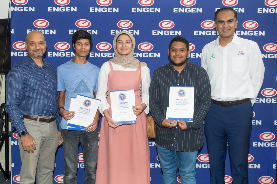Medical school beckons for Athlone teen who topped Engen's Maths & Science School