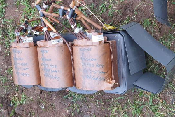 Theft of tower batteries and transformer, thief falls to his death, Tzaneen. Photo: SAPS
