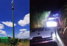 Cell phone tower battery thief shot dead, Canelands. Photo: RUSA