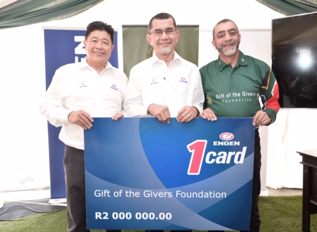 Engen partners with Gift of the Givers to aid national humanitarian relief efforts for South Africans