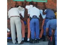 Police raid 6 high schools, dangerous weapons and drugs recovered, NC. Photo: SAPS