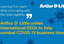 Arthur D. Little unites international CEOs to help combat COVID-19 business threats