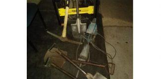 Illegal mining, three suspects arrested, Burgersfort. Photo: SAPS