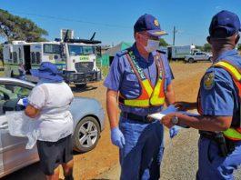 Lockdown transgressors: JTG cluster's General Bean warns public, NC. Photo: SAPS