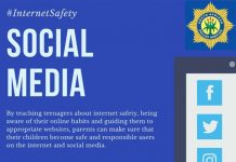 Lockdown: Safeguard children and educate them about internet safety. Photo: SAPS