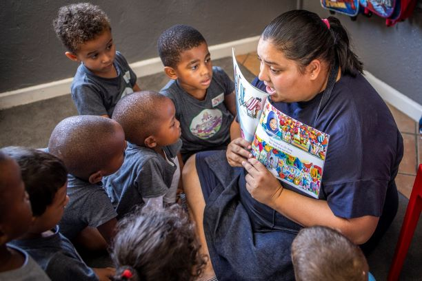 Growing a chain of High-Quality early learning centres across South Africa's disadvantaged communities