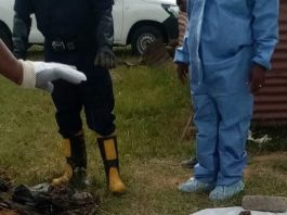 Missing woman's body discovered in pit toilet, 4 arrested, Zamdela. Photo: SAPS