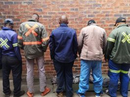 Illegal hunting: 5 arrested with several carcasses and rifle, Severn. Photo: SAPS