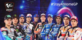 #StayAtHomeGP MotoGP™ Virtual Race between top riders using MGP19