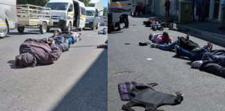 Winelands taxi violence, bystander wounded, driver killed, Cape. Photo: SAPS