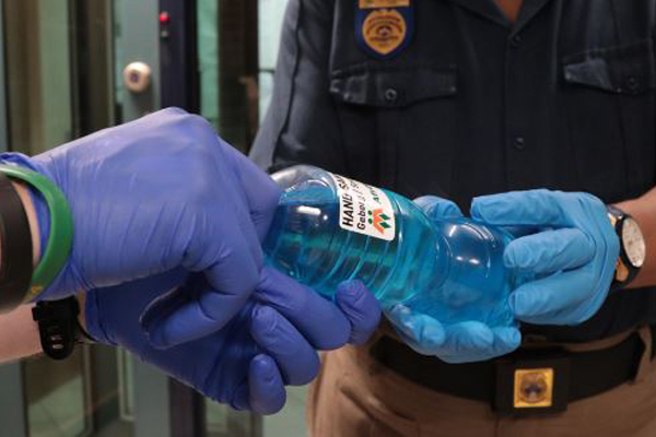 Sanitizer and masks: Campaign to assist old age homes and emergency workers