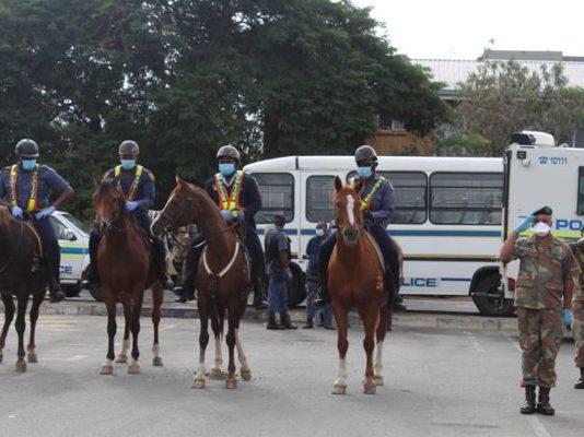 Lockdown operations: SAPS Management visit Limpopo