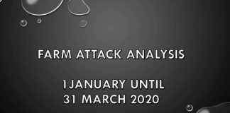 Visual analysis: Farm attacks and farm murders in South Africa, Jan-March 2020