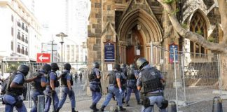 COVID-19: Relocation of refugees from the Central Methodist Church, CT. Photo: SAPS