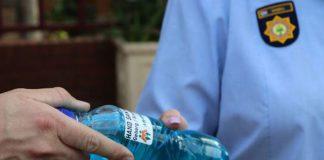 AfriForum donates hand sanitizer to Gauteng police stations. Photo: AfriForum
