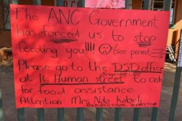 Lockdown causing starvation, ANC then close down 'The Cradle of Hope'