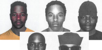 Identikits of 5 wanted Durban rapists released. Photo: SAPS