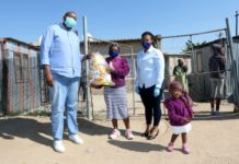 Engen retailers support 4 000 Diepsloot families with food hampers