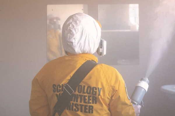 Scientology Volunteer Ministers: 939 buildings sanitized for Gauteng Social Development Department