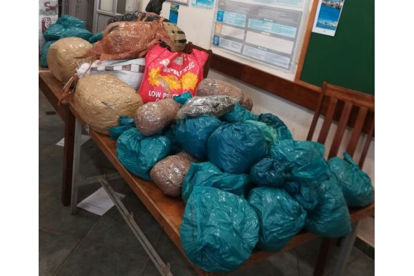 R732k worth of dagga uncovered by Port Shepstone team. Photo: SAPS