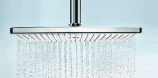 The Rainmaker Select, the award winning shower head from hansgrohe!