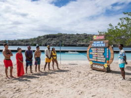 Tropika Island of Treasure heats up as top three teams battle it out for a spot in this season's finale