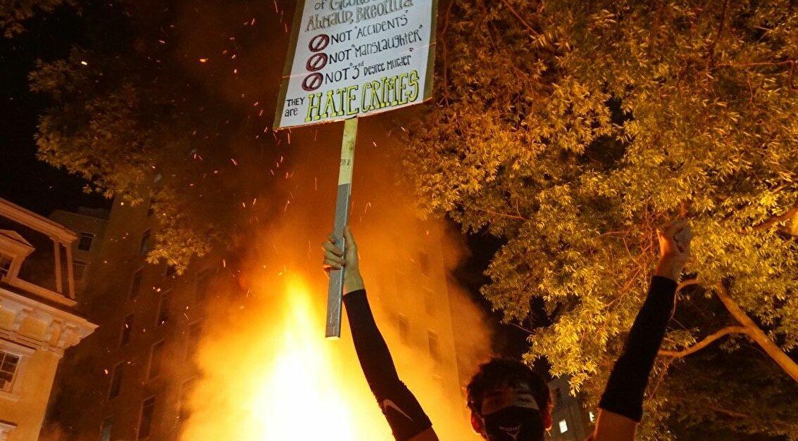 #BlackLivesMatter Protester in Washington DC