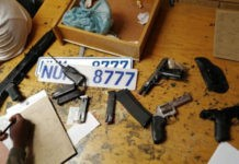Mamelodi taxi violence, gang arrested, firearms recovered. Photo: SAPS