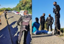 Alert officers save woman from rape, chase down suspect, Missionlands. Photo: RUSA