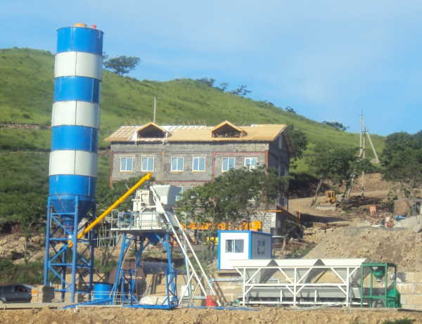 Optional Concrete Batching Plant Manufacturer in Africa