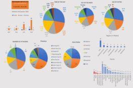 South African farm attack analysis: Visual presentation, April - June 2020