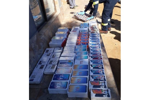 Senekal retail store armed robbery, 4 suspects tracked down. Photo: SAPS