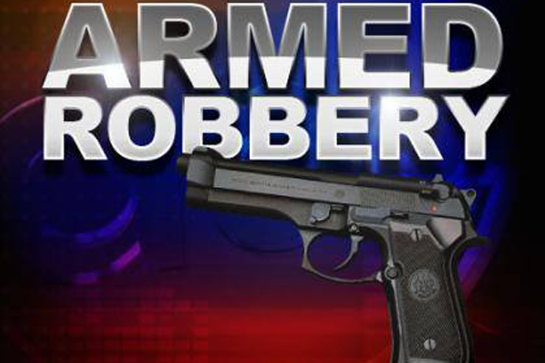 Business robbery: Guard robbed of firearm, patrons robbed, Northdale
