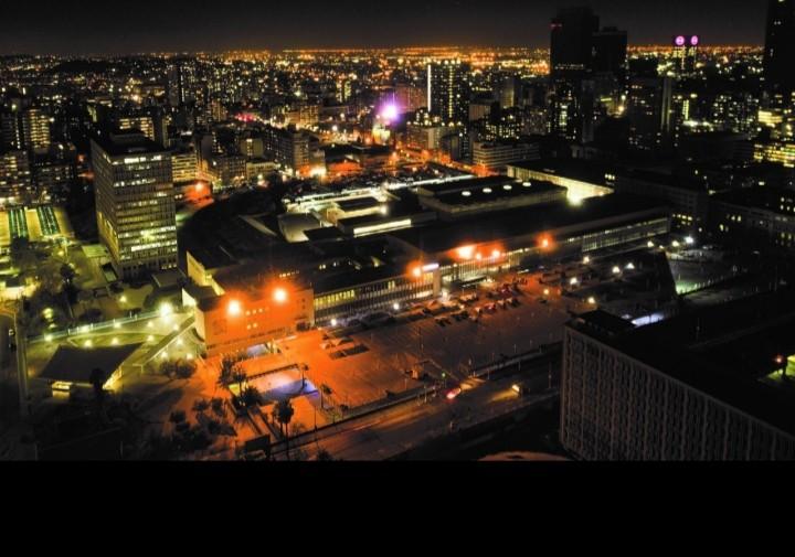 Park Station, Johannesburg.