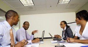 Business Meeting --- Image by © Radius Images/Corbis