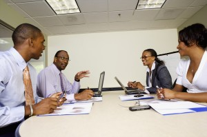Business Meeting --- Image by © Radius Images/Corbis