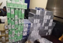 Drugs and tobacco products worth R1.1 mil seized, Mbekweni. Photo: SAPS