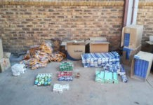 Illicit cigarettes and tobacco products confiscated, Upington
