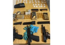 AGU recover guns, drugs and ammunition, Lentegeur