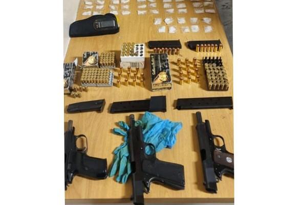 AGU recover guns, drugs and ammunition, Lentegeur