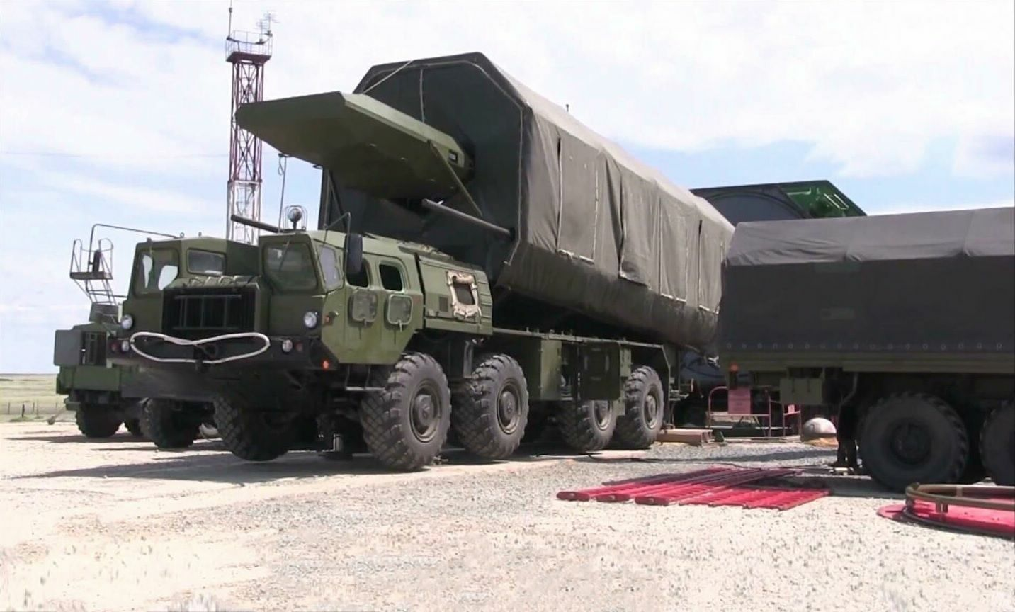 Avangard hypersonic missile system