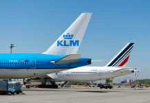 A letter from Air France-KLM General Manager