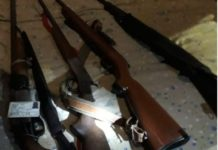 Infrastructure destruction: Rapid rail policing unit recover firearms