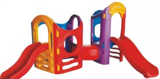 Plastic Jungle Gyms and Slides