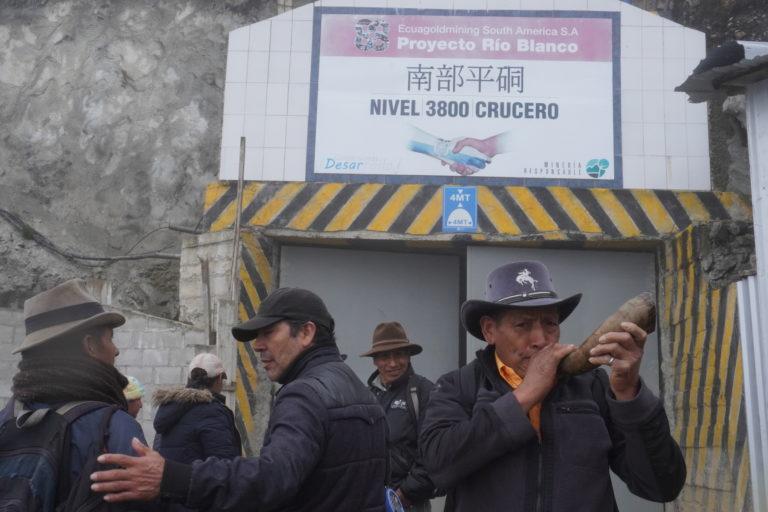 Consulta popular Cuenca. Río Blanco está ubicado en las parroquias Molleturo y Chauca en Cuenca. Fotografía de Nicolás Coronel Aráuz.