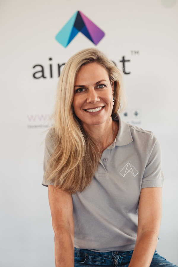 Heather Mostert, Co-Founder and Director of Airshot
