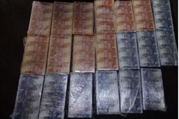 Over R2 Million worth of counterfeit notes recovered, Pretoria. Photo: SAPS