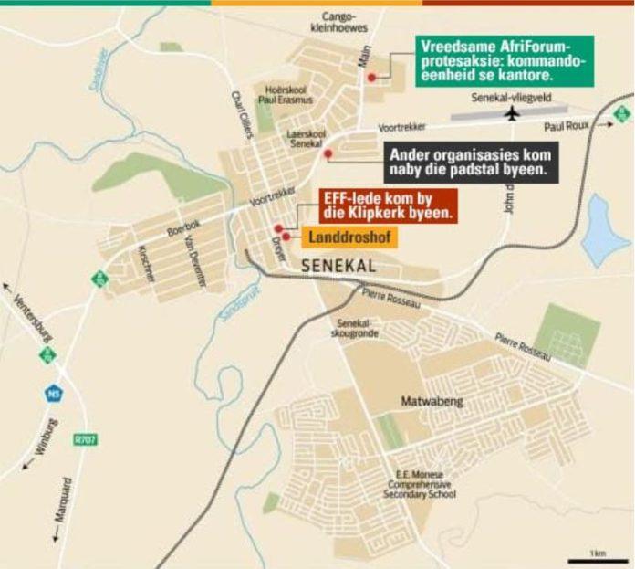Arrangements for AfriForum farm murder protest in Senekal