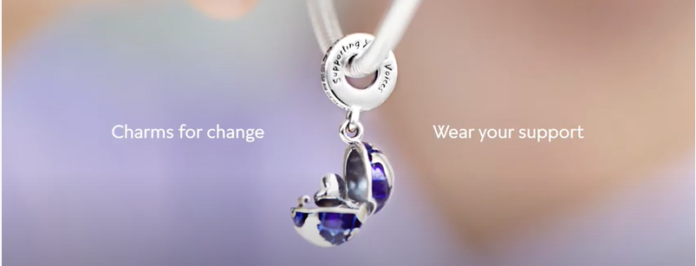 Pandora x UNICEF release new charm to support the world`s most vulnerable children